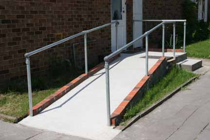 access ramp windsor