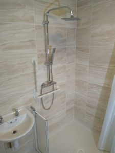Level access shower Chichester