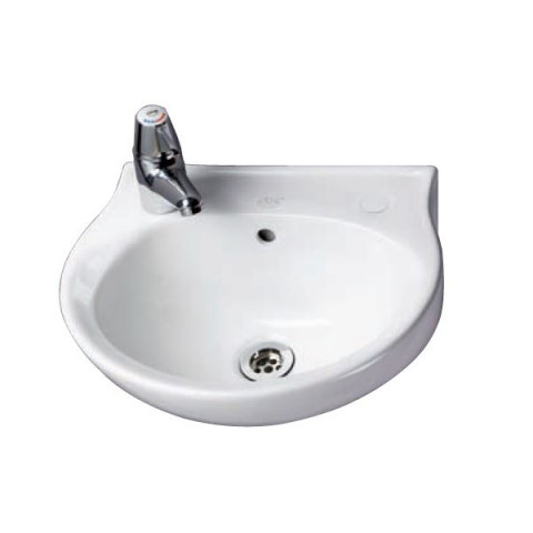 2 Tap Hole Finger Rinse Wash Basin (400mm wide)