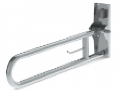 Hinged Fold-Up Double Hairpin Rail (32mm) SS