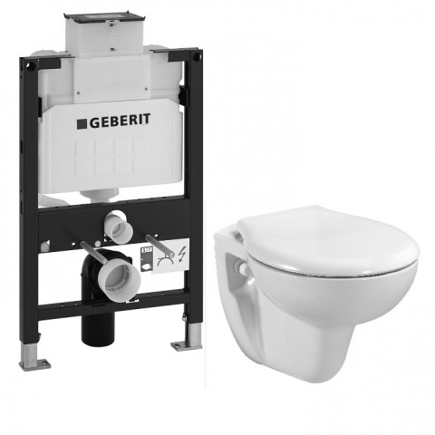 Freelux wall hung toilet pack