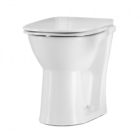 Freelux Comfort Height Back to Wall Toilet and Seat