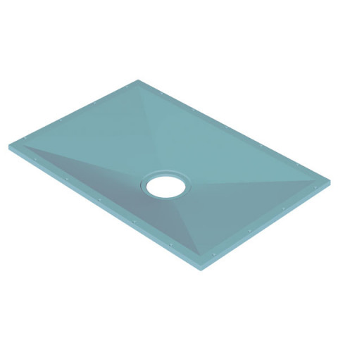 Tuff Form 1400×900 with Low Height Wet Waste for Vinyl Floor